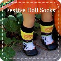AG Doll Socks for American Girl 18 Inch Doll Scrunchy Socks
