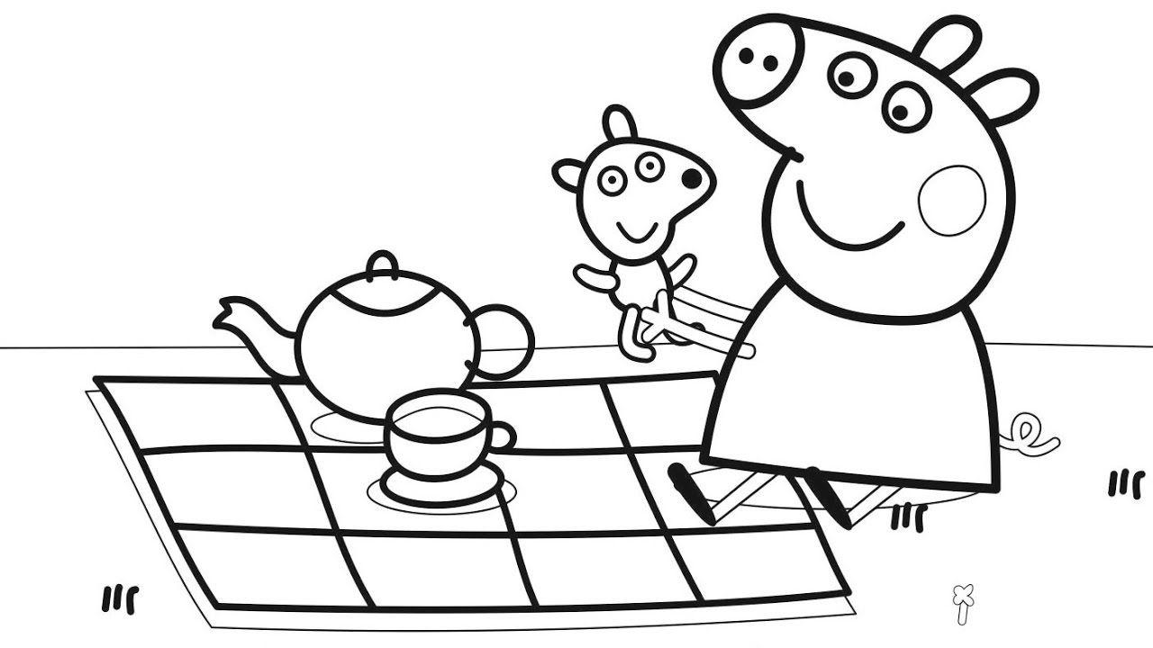 résultats de recherche d'images pour « peppa pig coloring