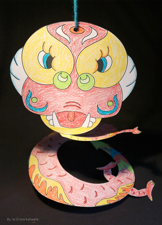 Chinese New Year Craft Dragon