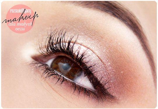 Alina Rose Makeup Blog Makijaż Rozświetlający Dla Małych Oczu