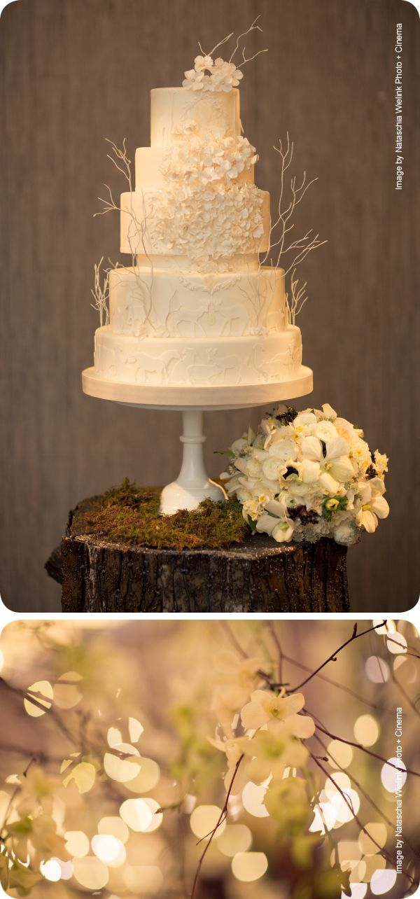 Forest wedding cake for a fall wedding. please and thank you | The ...