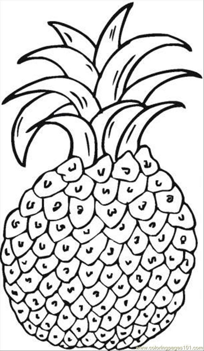 Pineapples Coloring Pages Google Search Christmas Coloring Pages Free Coloring Pages Fruit Coloring Pages