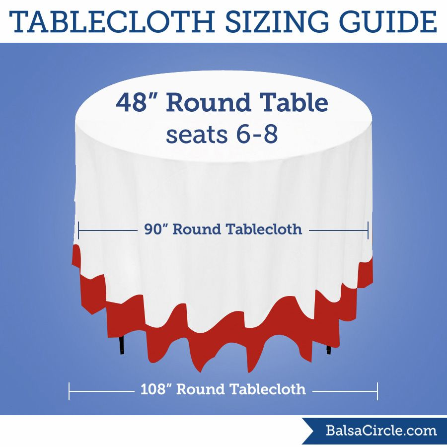 96 inch round tablecloth - Use 90 Round Tablecloths For 21 Drop On 48 Round Tables Or 108