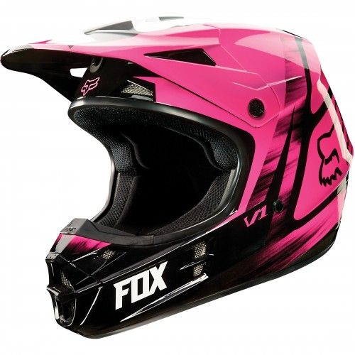 Fox Racing V1 Vandal Womens Helmet Motocross Helmets Dirt Bike Gear Motocross Gear