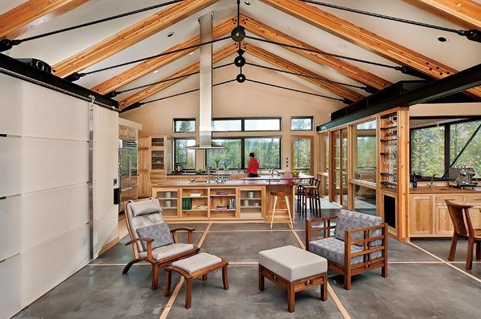 Todo telhado precisa de um suporte, sejam vigas, pilares ou tesouras ...