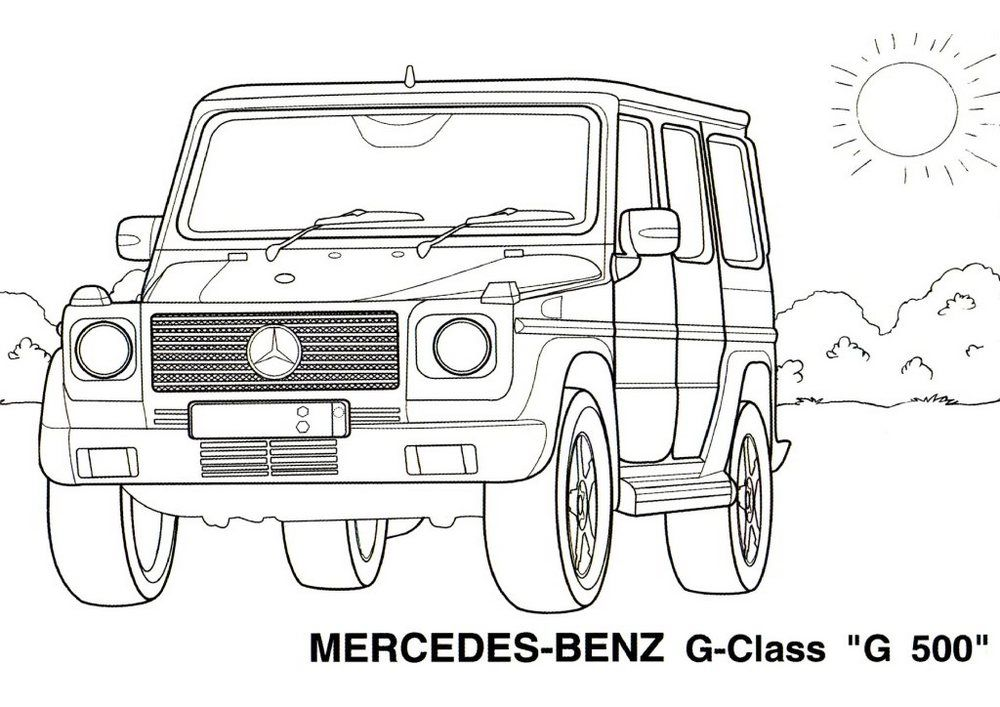Coloringpagesfortoddlers.com- This is the best new car coloring page ...