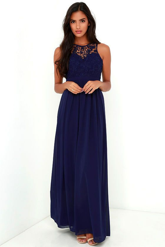 So Far Gown Navy Blue Lace Maxi Dress Blue Lace Maxi Dress Maxi Dress Green Maxi Dress