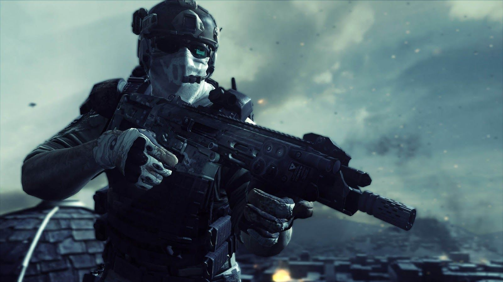 Ghost Recon is a top-secret division of Army special forces and only ...