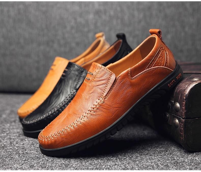 Men S Leather Shoes 3 Colors In 2020 Leather Shoes Men Black Leather Shoes Men Leather Men