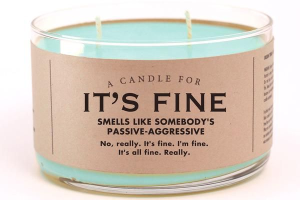 A Candle for It's Fine #candles