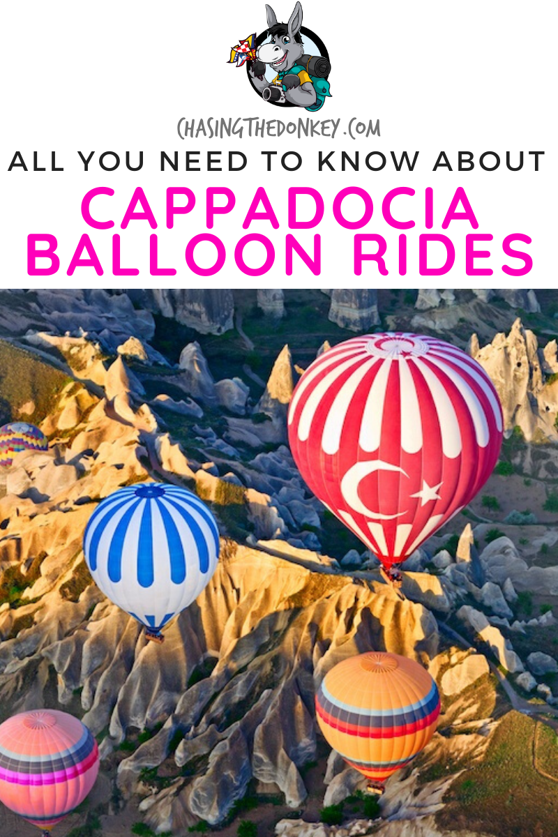 Cappadocia Hot Air Balloon Cost & What You Need To Know