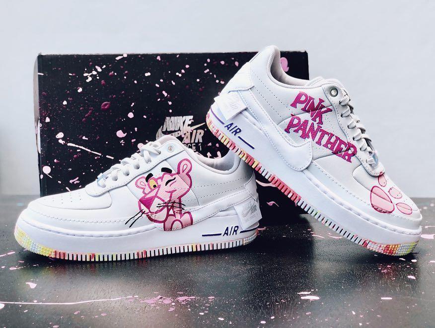 """ᴇʀɪᴋ ɢᴜᴢᴏɴ † on Instagram: """"Nike AF1 Pink Panther"""