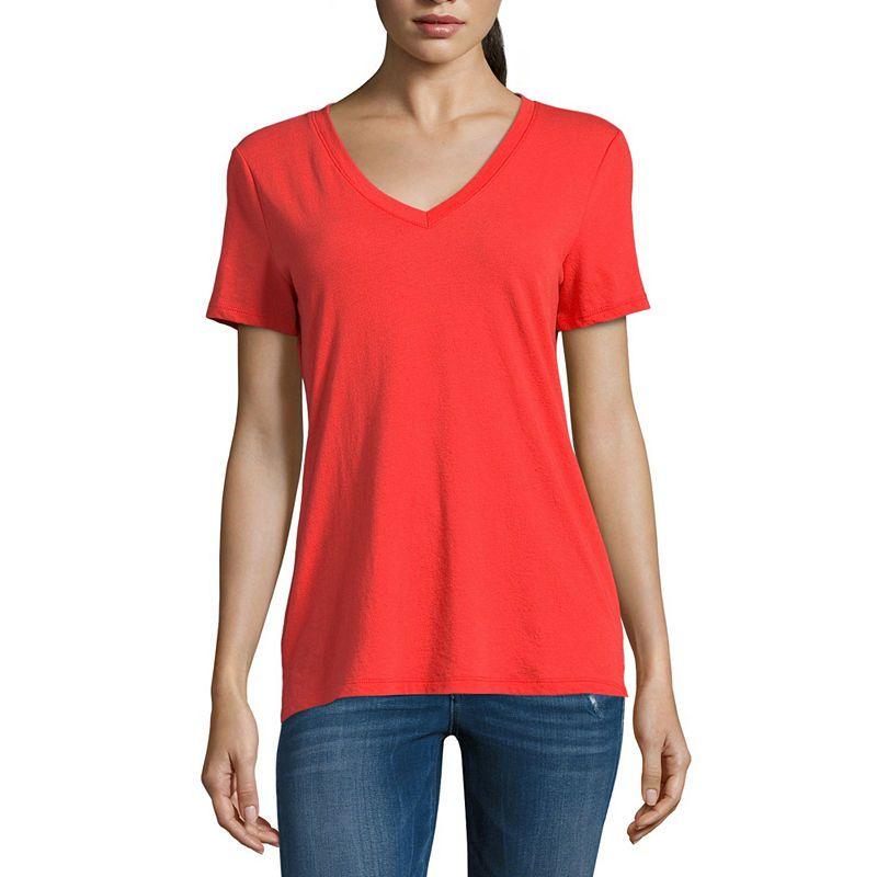 dcf376383b539 ANA V Neck T Shirt Talls JCPenney