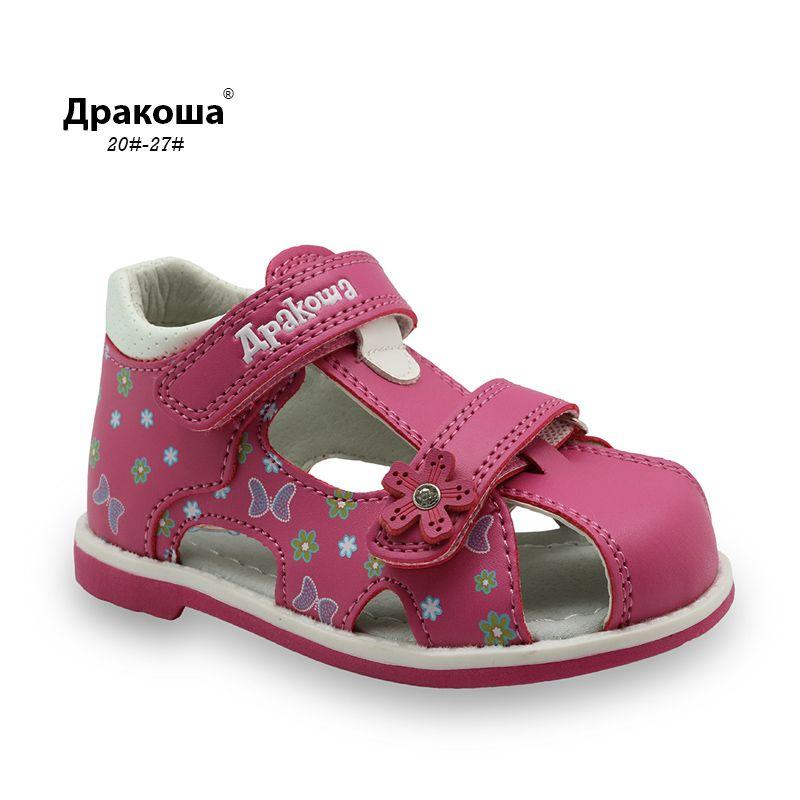Cool Apakowa Pu Leather Girls Shoes Kids Summer Baby Girls Sandals Shoes Skidproof Toddlers Infant Sandalias De Meninas Calcados Para Meninas Calcados Infantis