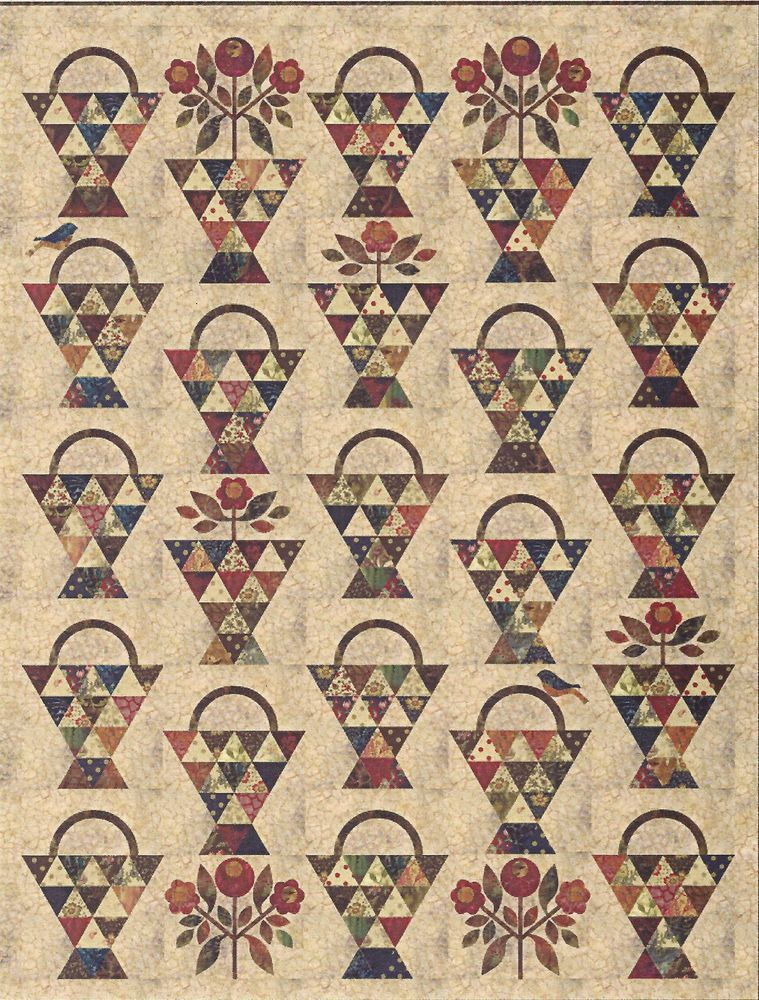 Paint Basket Quilt Pattern By Edyta Sitar Of Laundry Basket Quilts
