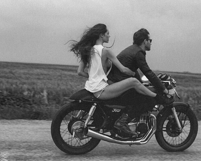 Ride With Me Motocikly Cafe Racer Bajkersha Starye Motocikly