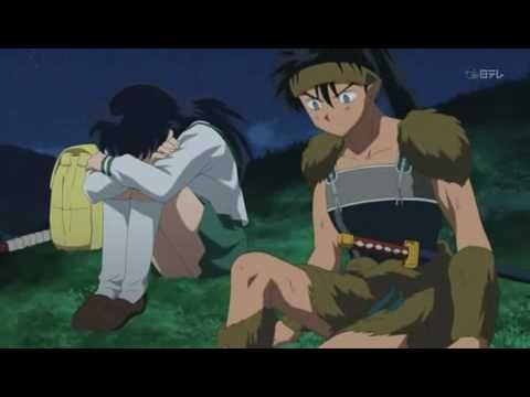 Kikyo's Death, I cried a lot! Because she was the first woman who loved him and he falled in love with her time ago... Poor Kikyô and Inuyasha... :(