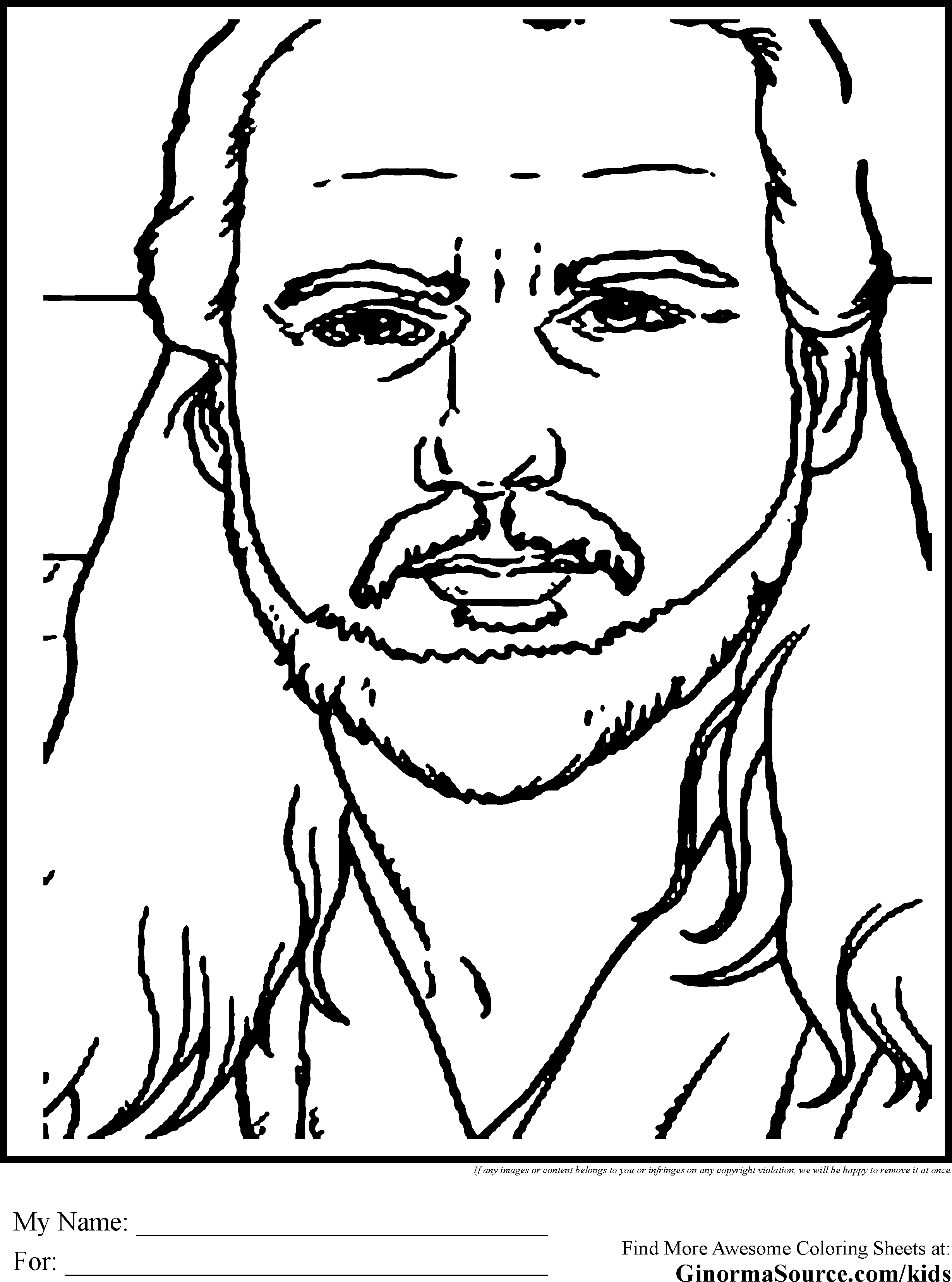 star wars coloring pages qui gon jinn gif 2459 3310 lineart