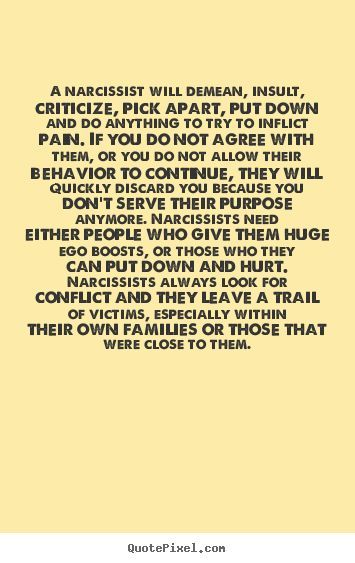 Quotes about Narcissist (69 quotes)