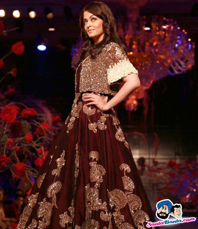 Manish Malhotra Show at AIFW 2015 -- Aishwarya Rai Picture # 313072 ...