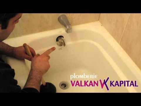Comment déboucher une baignoire Plomberie Montreal ValkanKapital
