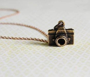 silver camera il jewelry etsy initial birthstone swarovski charm personalized photography necklace market
