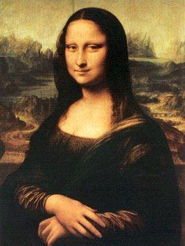 Conheça algumas das principais características das pinturas de Leonardo da Vinci: Utilização da técnica artística da perspectiva, uso de cores próximas da realidade, figuras humanas perfeitas, temas religiosos, uso da matemática em cálculos artísticos, imagens principais centralizadas, paisagens de fundo, figuras humanas com com expressões de sentimento, detalhismo artístico.  Obra: La Gioconda (Mona Lisa): principal obra de Da Vinci (1503-1506)
