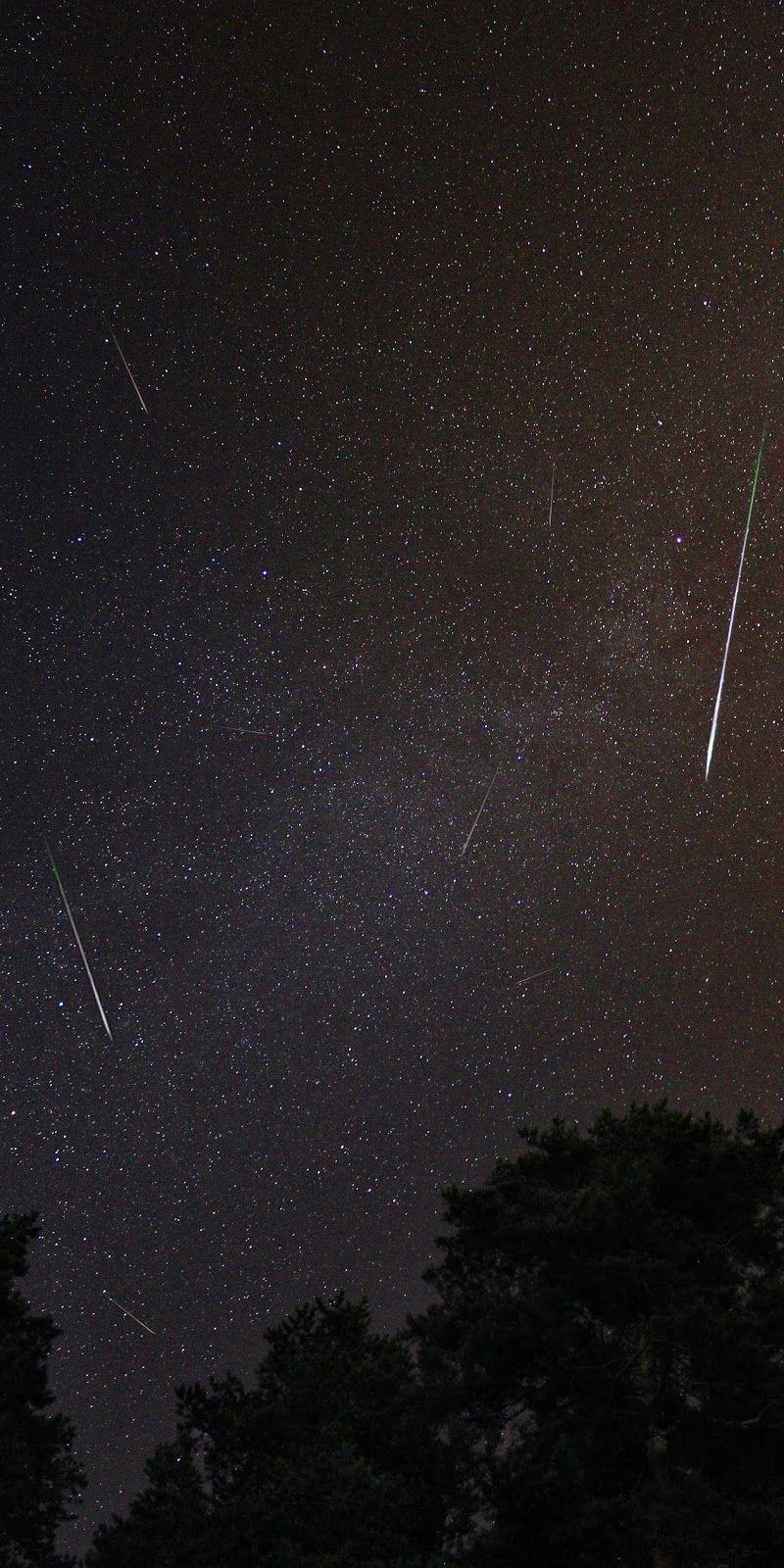 Star Fall 2020 Gece Gokyuzu Goruntuleri Meteor Yagmuru Resimler