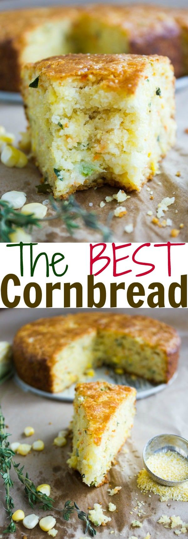 Cheddar Zucchini Cornbread - the best Cornbread Recipe