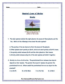 Newton's Laws of Motion: Review Questions | Open Board: TPT