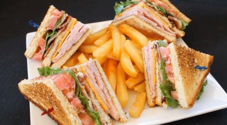 Näin valmistat club sandwichin