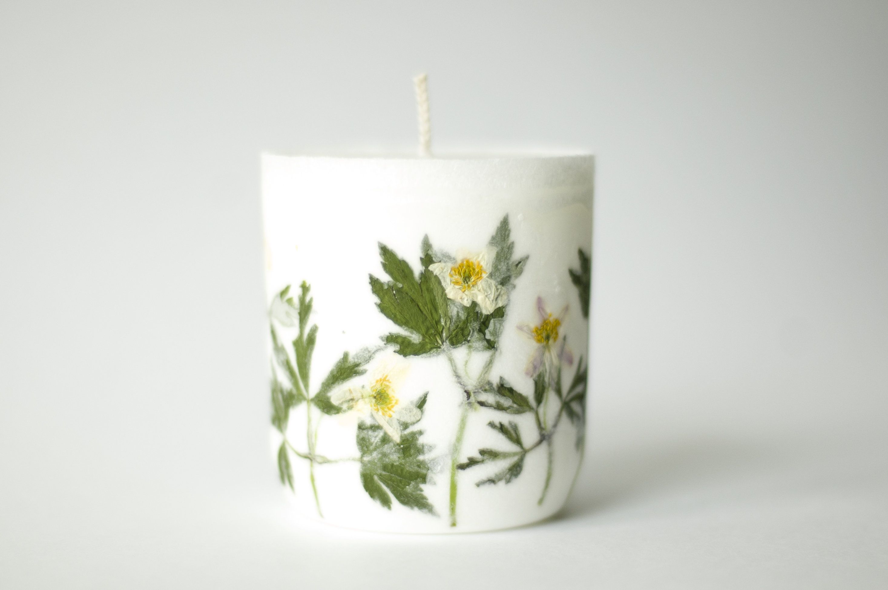 Botanical Candle Dried Flower Candle Botanical Candles Products