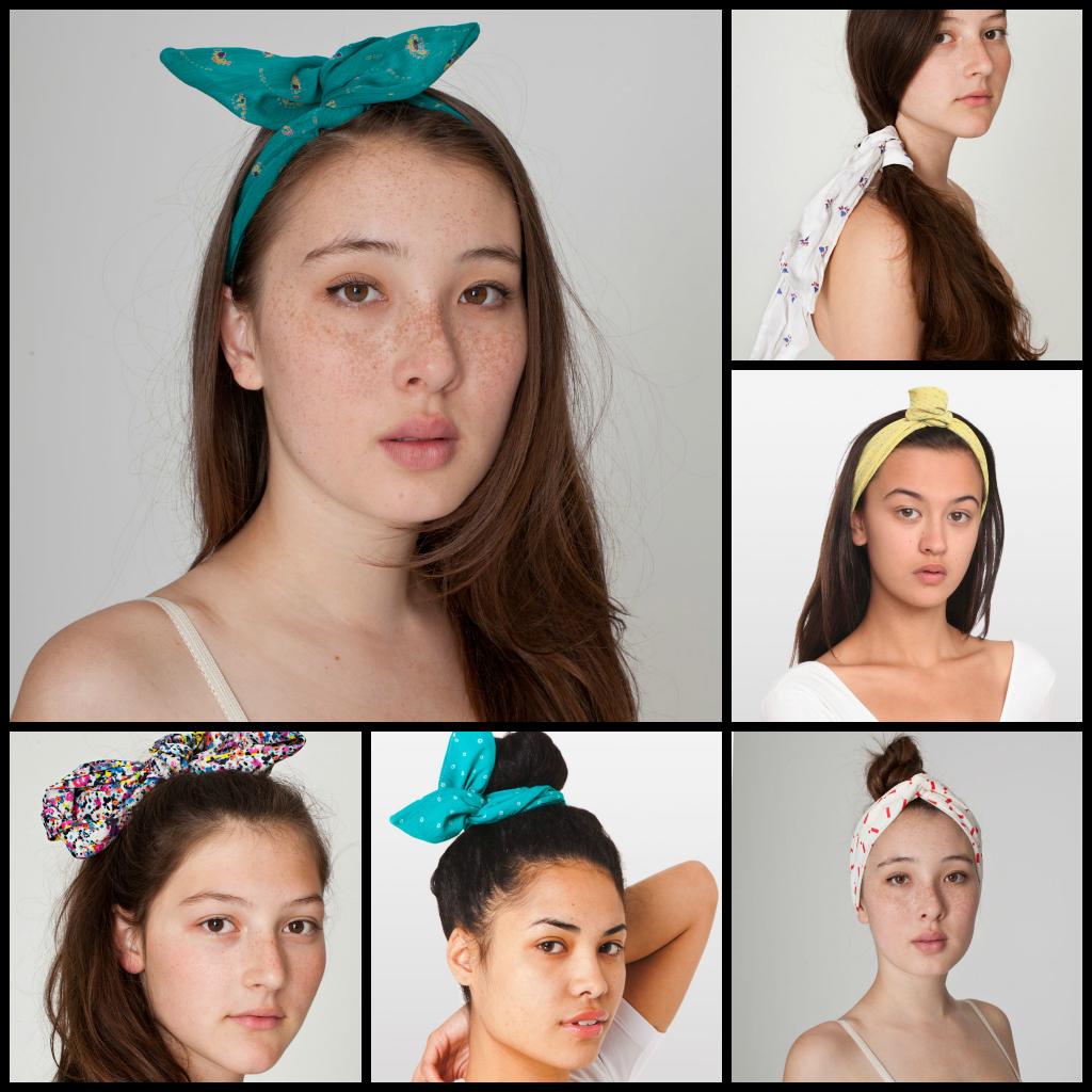 How to american wear apparel twist headband video