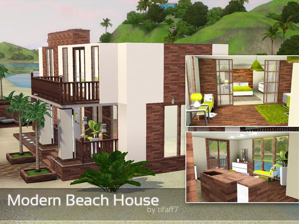 Sims 3 House Modern