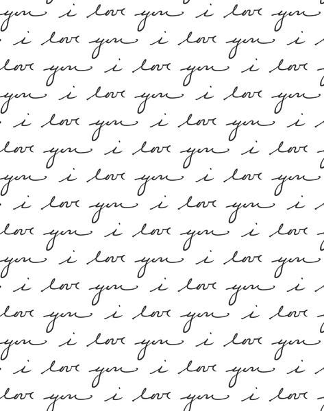 I Love You by Sugar Paper - White