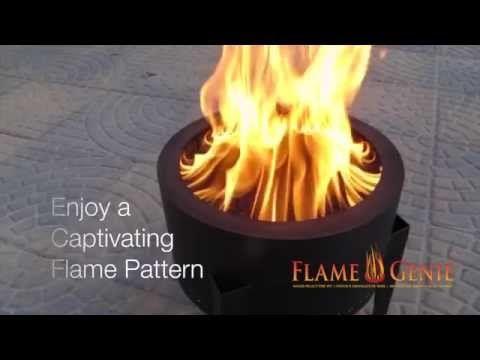 Flame Genie Pellet Fire Pit Fire Pit Wood Pellets Pellet