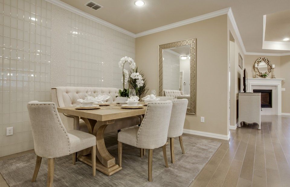 Room Transitional Dining With Restoration Hardware
