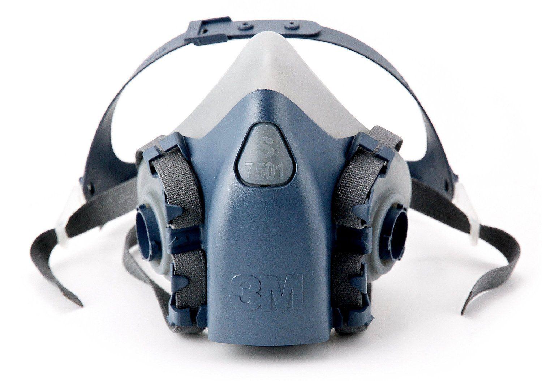 3M Half Facepiece Respirator Large Aqua 7503