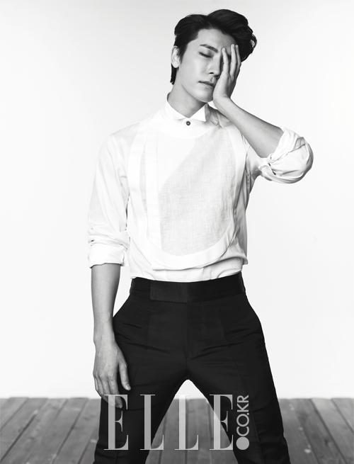 Donghae (동해) for Elle Korea (July 2014)