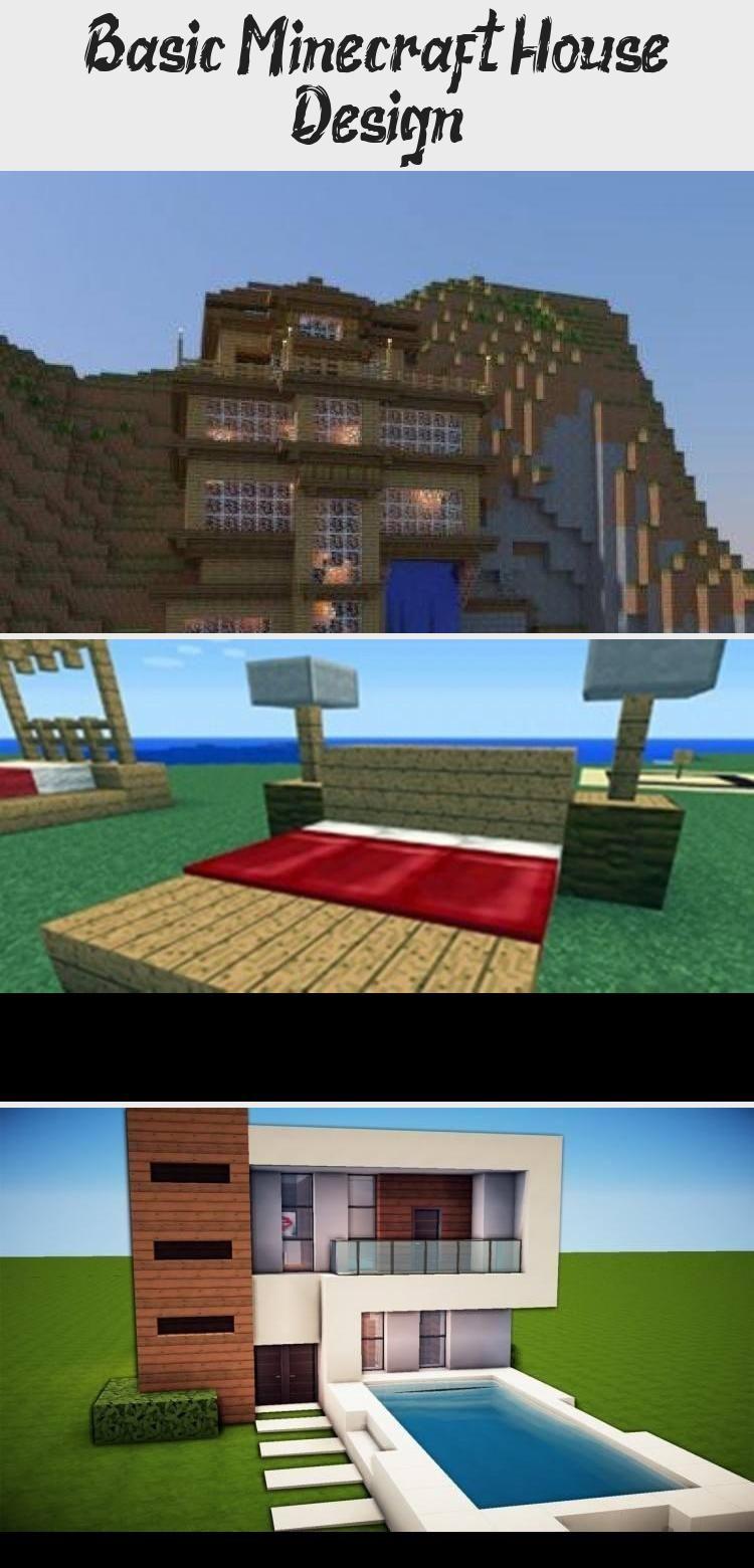 Basic Minecraft House Design Minecraftcomics Minecraftfurniture