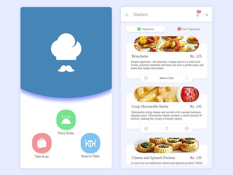 Restaurant App Restaurant app, App design, Restaurant