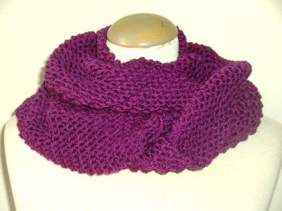 Echarpe femme laine tour de cou   Aqualogia d1f502eb7cd