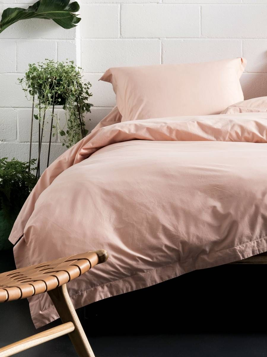 Elka Blush Quilt Cover Set Quilt cover sets, Bed linens