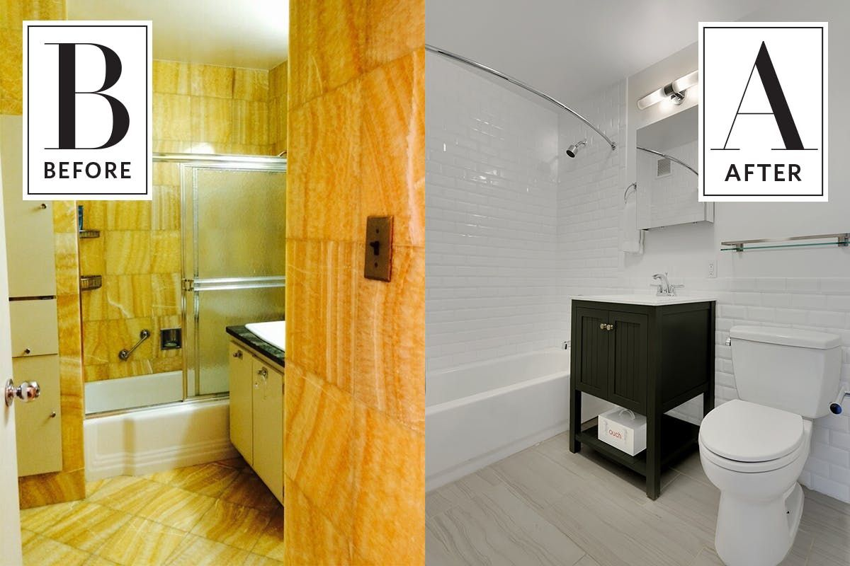 Combining Two Apartments into One Lux Pad | Bathroom Remodeling ...