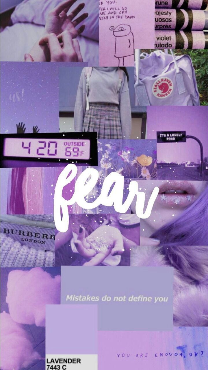 Purple Aesthetic Pastel Wallpaper Aesthetic Iphone