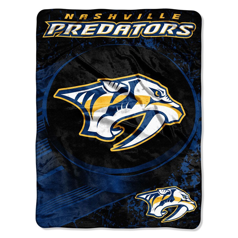 New! Nashville Predators Micro Raschel Blanket (46in x 60in) #NashvillePredators