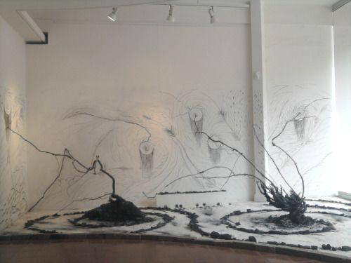 Otto Apuy Estética de la destrucción 2011 x