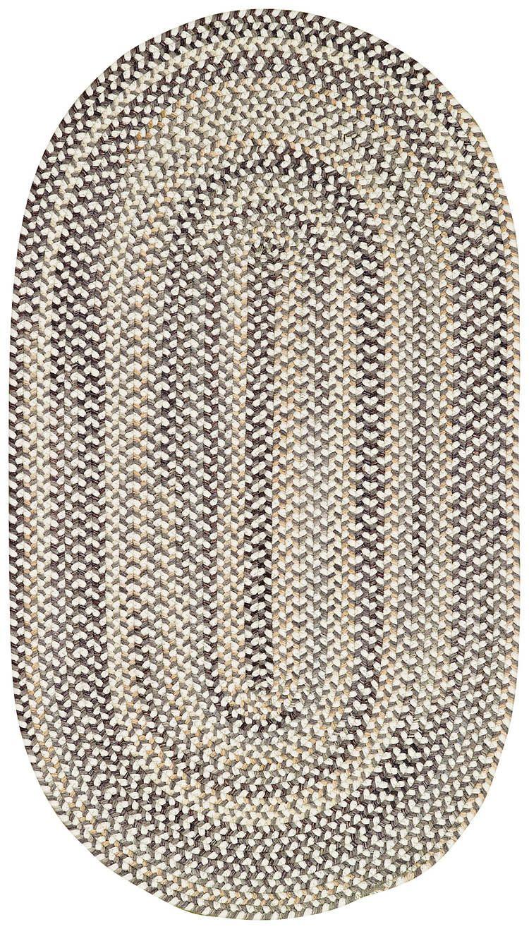 Best Bear Creek Grey Braided Rugs Braided Rugs Rugs Area Rugs 400 x 300