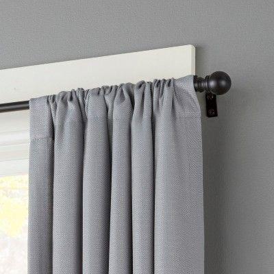 1 2 Davenport Petite Cafe Decorative Window Curtain Rod Kenney