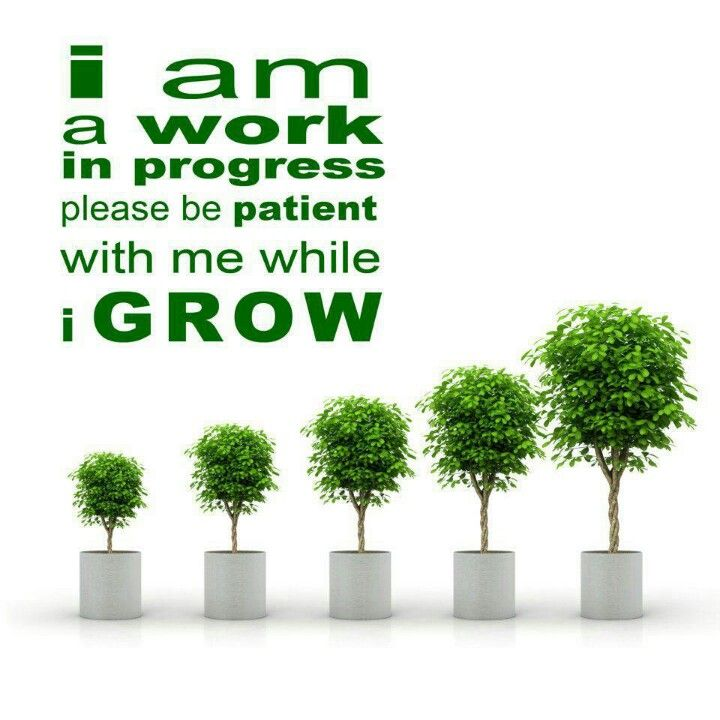 I am a work in progress Progress quotes, Work in